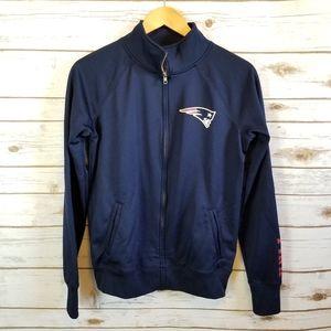 Pink | New England Patriots Zip Up Jacket